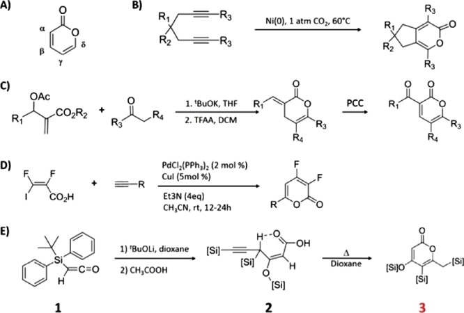 Synthesis of Highly Functionalized 2-Pyranone from Silyl Ketene.